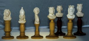 Characters Mammoth Ivory Chessmen