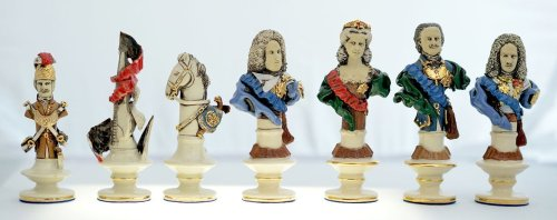 Russian Karl XIII vs French Chessmen