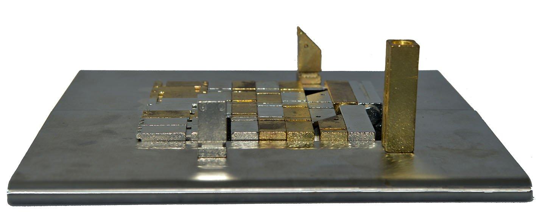 metal puzzle chess set