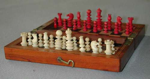 Calvert Bone Travel Chess Set