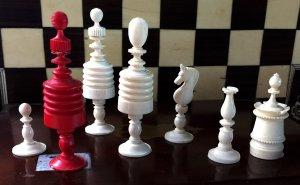 Type II Barleycorn Chess Set