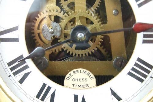 Tanner Antique Chess Clock