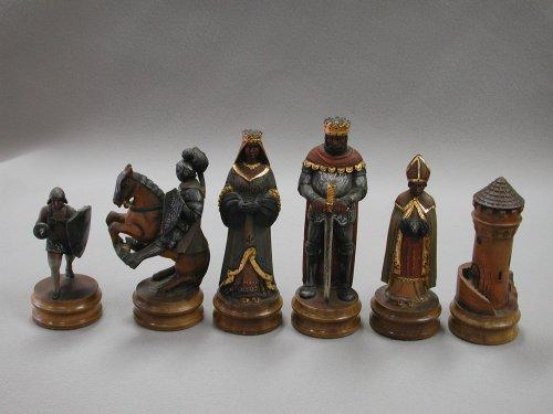 "Anri Monsalvat Chess Set, 7"" King"