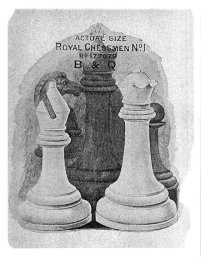 British Chess Company Royal Staunton Chessmen