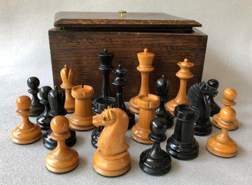 Antique B & Company Chessmen