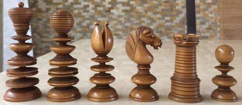 Calvert Old English Pattern Chessmen
