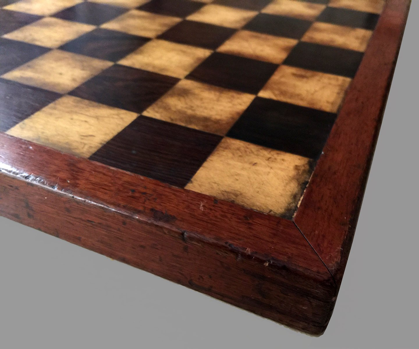Small Antique Jaques Style Chessboard