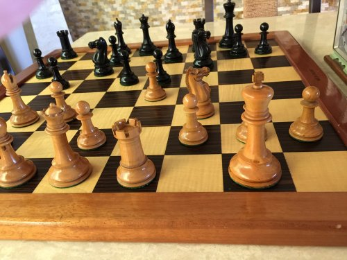 Jaques Staunton Chess Pieces