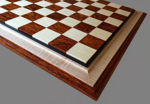 Cocobolo Holly Signature Chessboard