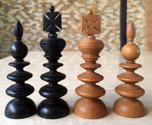 William Lund Old English Pattern Chessmen