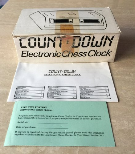 Countdown Electronic Chess Clock