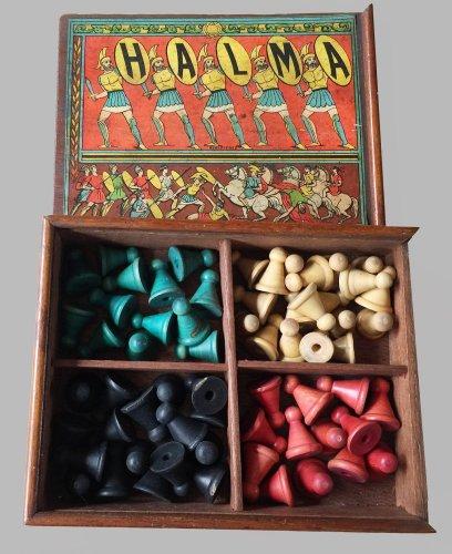 Halma, Cribbage and Dominoes