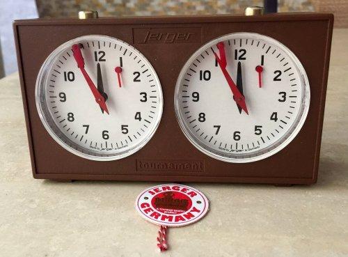 Jerger King Time Tournament Chess Clock