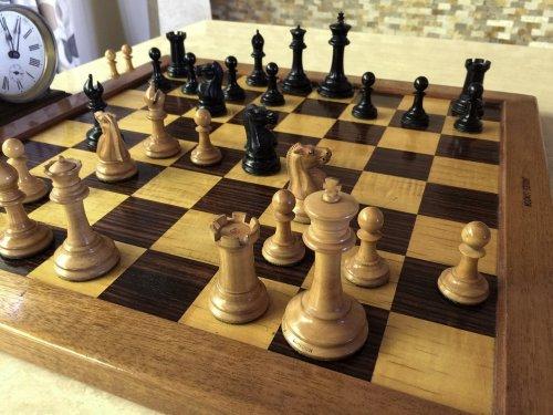 Antique Jaques Pre-Zukertort Chessmen