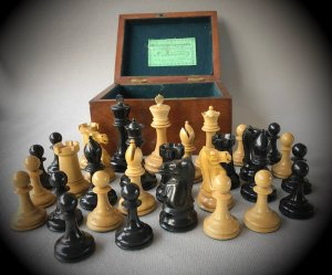 Jaques Hartston Tournament Chessmen