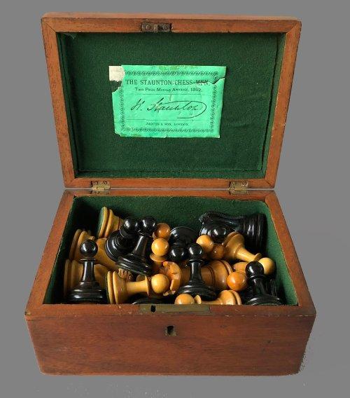 Jaques Pre-Zukertort Chessmen, Tournament Size