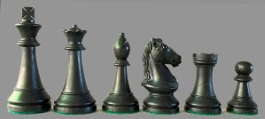 Legend Products Plastic Chess Pieces