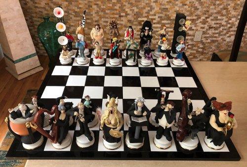 Doug Anderson Rockers Chess Set