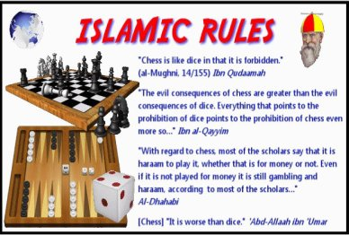 Susan Polgar Global Chess Daily News and Information - Chess, a forbidden  game in Islam