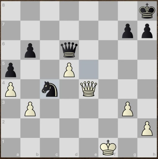 checkmate tactic puzzle easy