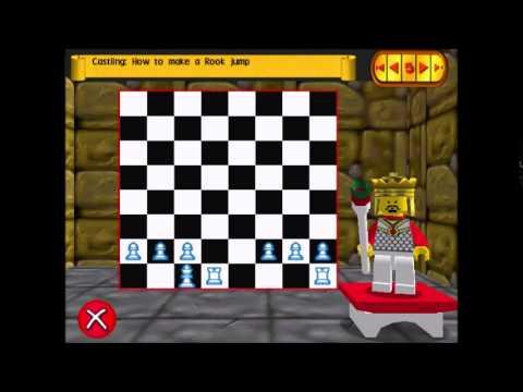 LEGO Chess – Tutorial 4: En Passant, Promotion, Castling [Book 2]