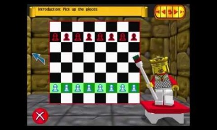 LEGO Chess – Tutorial 1: The Board, Pawns, Knights [Book 1 part 1]