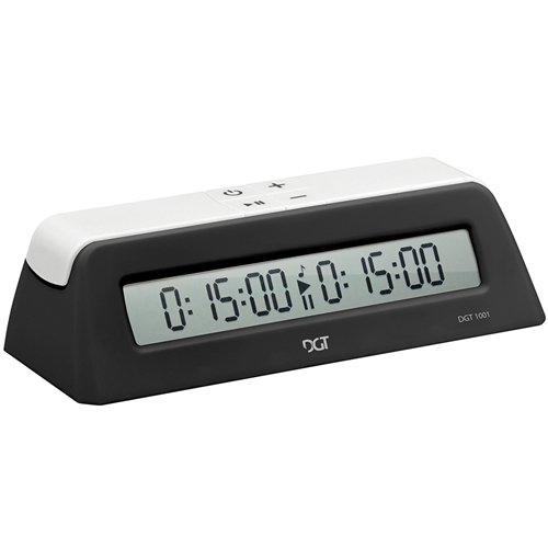 DGT1001 Universal Chess Clock and Game Timer – Black