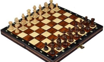 Magnetic Wooden Tournament Travel Chess Set – Medium by Wegiel