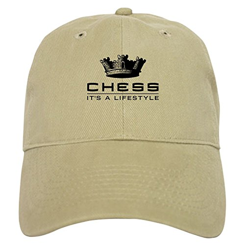 CafePress – Chess – Baseball Cap with Adjustable Closure, Unique Printed Baseball Hat
