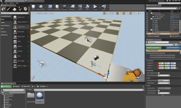 Creating Chess Board in Unreal Engine 4
