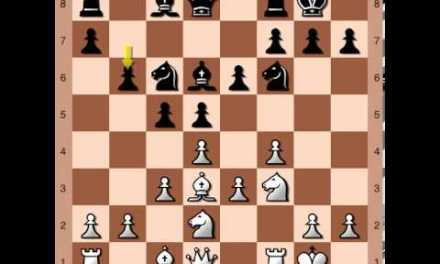 Chess Opening: The Stonewall Attack (Example Game)