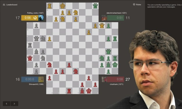 GM Jon Ludvig Hammer Tries Four Player Chess