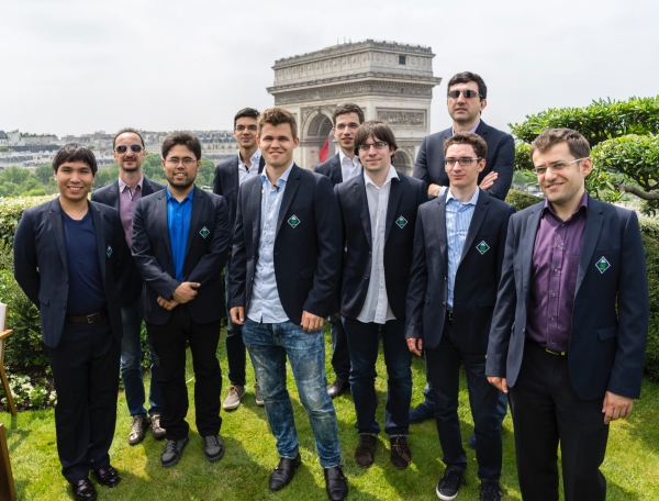Grand Chess Tour Paris 2016 Rapid Day 1 Results