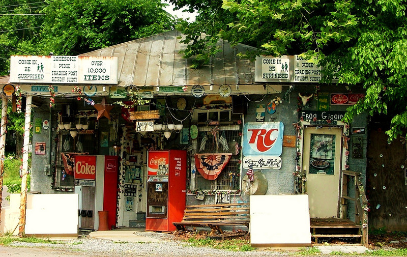 The eclectic little country store