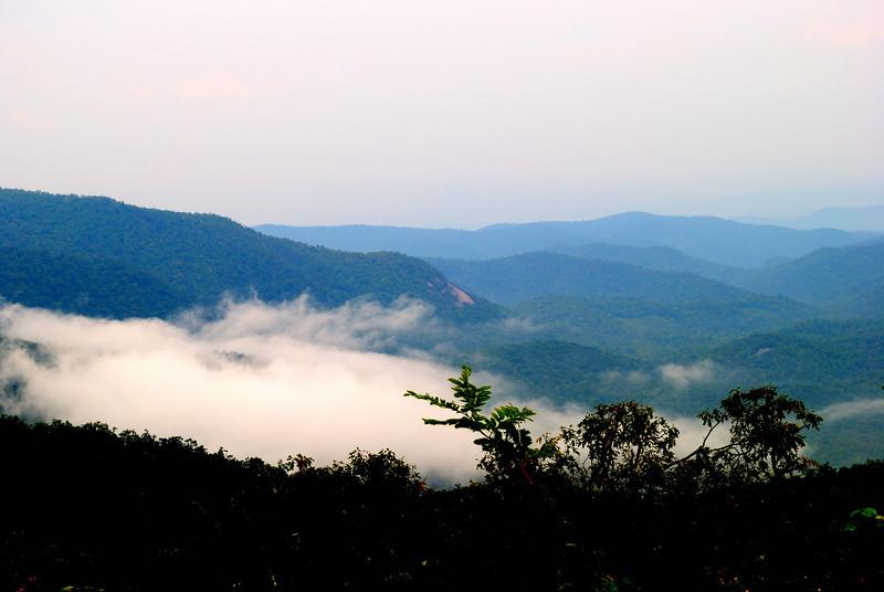 Rain Clouds of the Blue Ridge.
