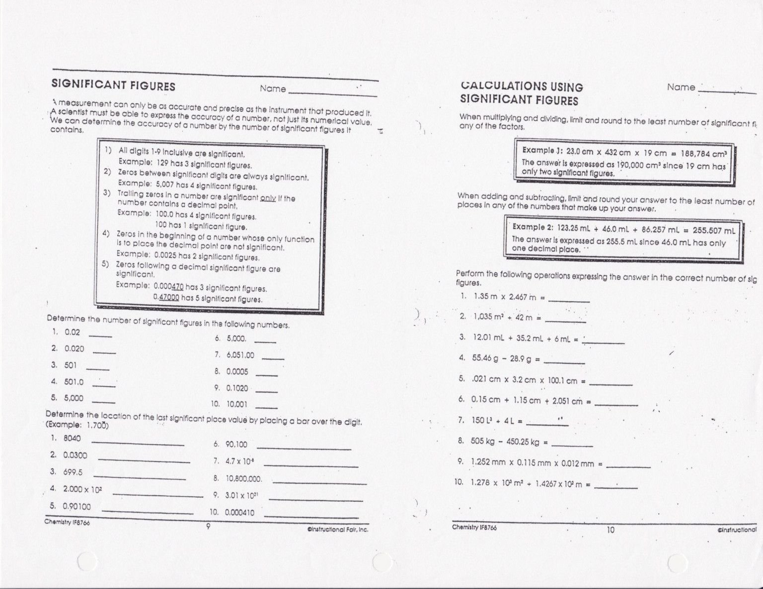 50 Adding Subtracting Scientific Notation Worksheet
