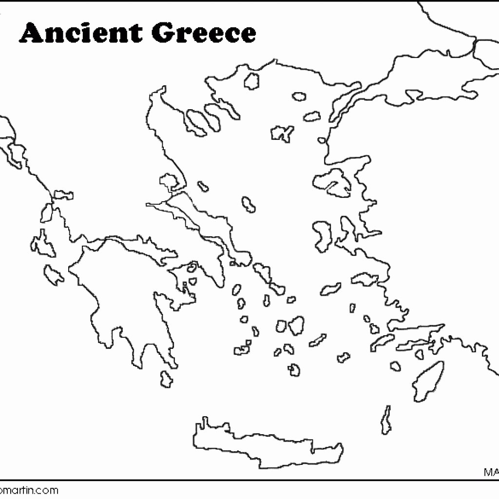 50 Ancient Greece Map Worksheet