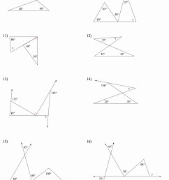 Angle Relationships To Solve Worksheet   Printable Worksheets and  Activities for Teachers [ 1352 x 1086 Pixel ]
