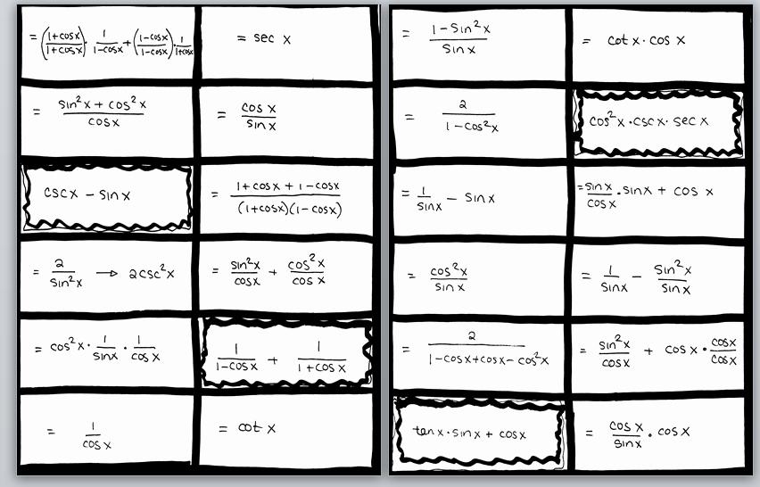 50 Derivative Of Trigonometric Functions Worksheet