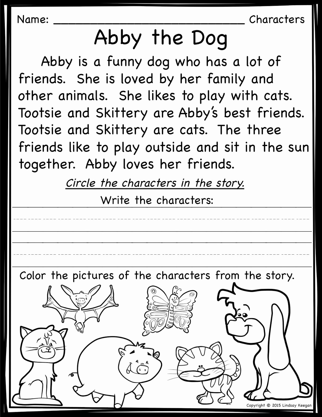 hight resolution of Elements Of A Folktale Worksheet   Printable Worksheets and Activities for  Teachers