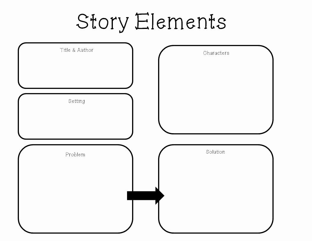 50 Elements Of Fiction Worksheet