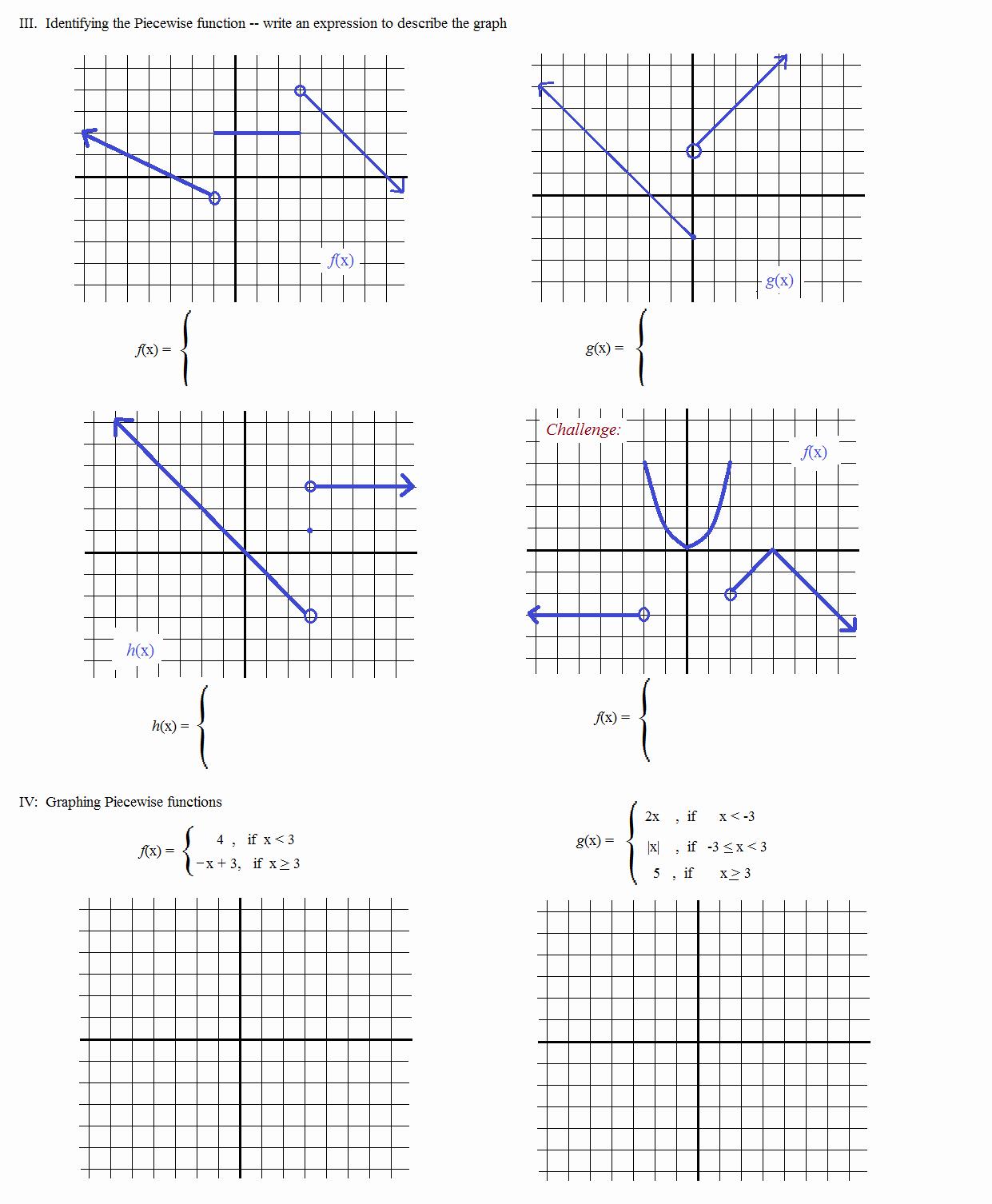 50 Evaluating Functions Worksheet