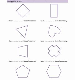 Drawing Lines Of Symmetry Worksheet   Printable Worksheets and Activities  for Teachers [ 1754 x 1240 Pixel ]