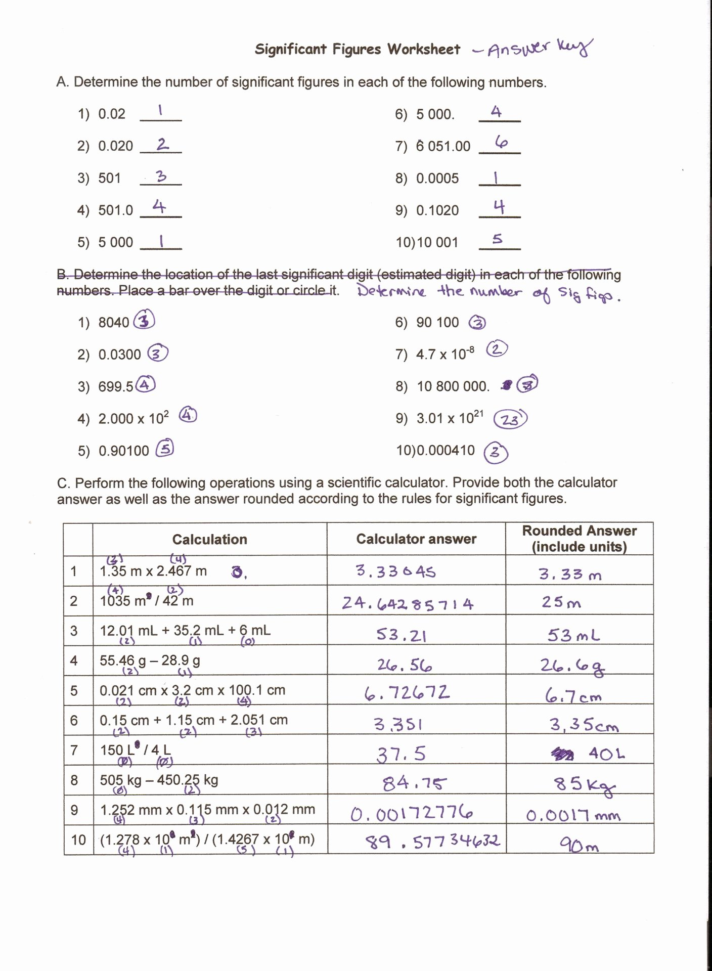 50 Metric Conversion Worksheet Answer Key