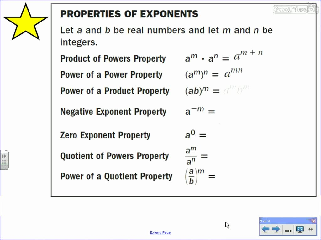 50 Multiplication Properties Of Exponents Worksheet