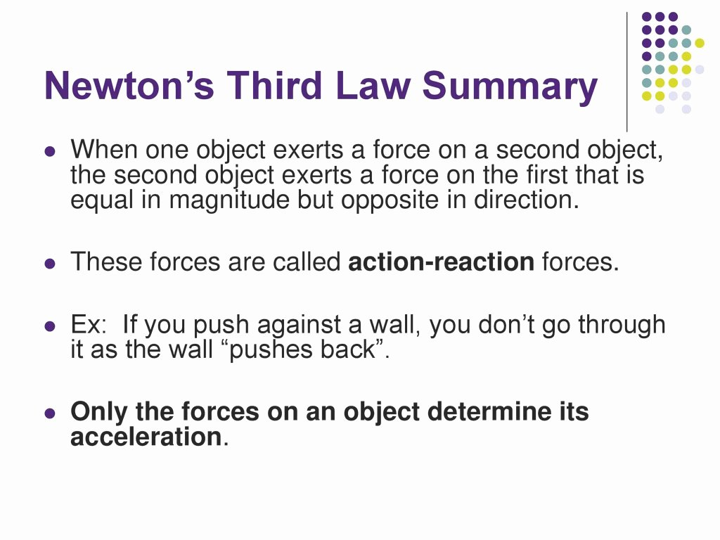 50 Newton S Third Law Worksheet Answers