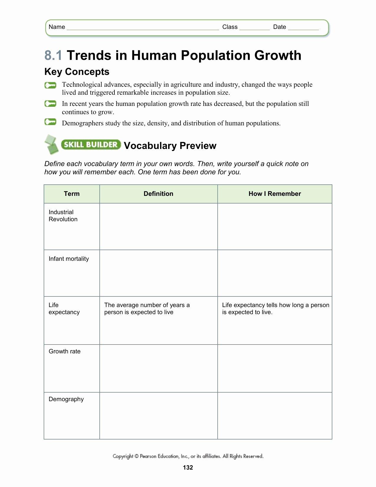 50 Population Ecology Graph Worksheet