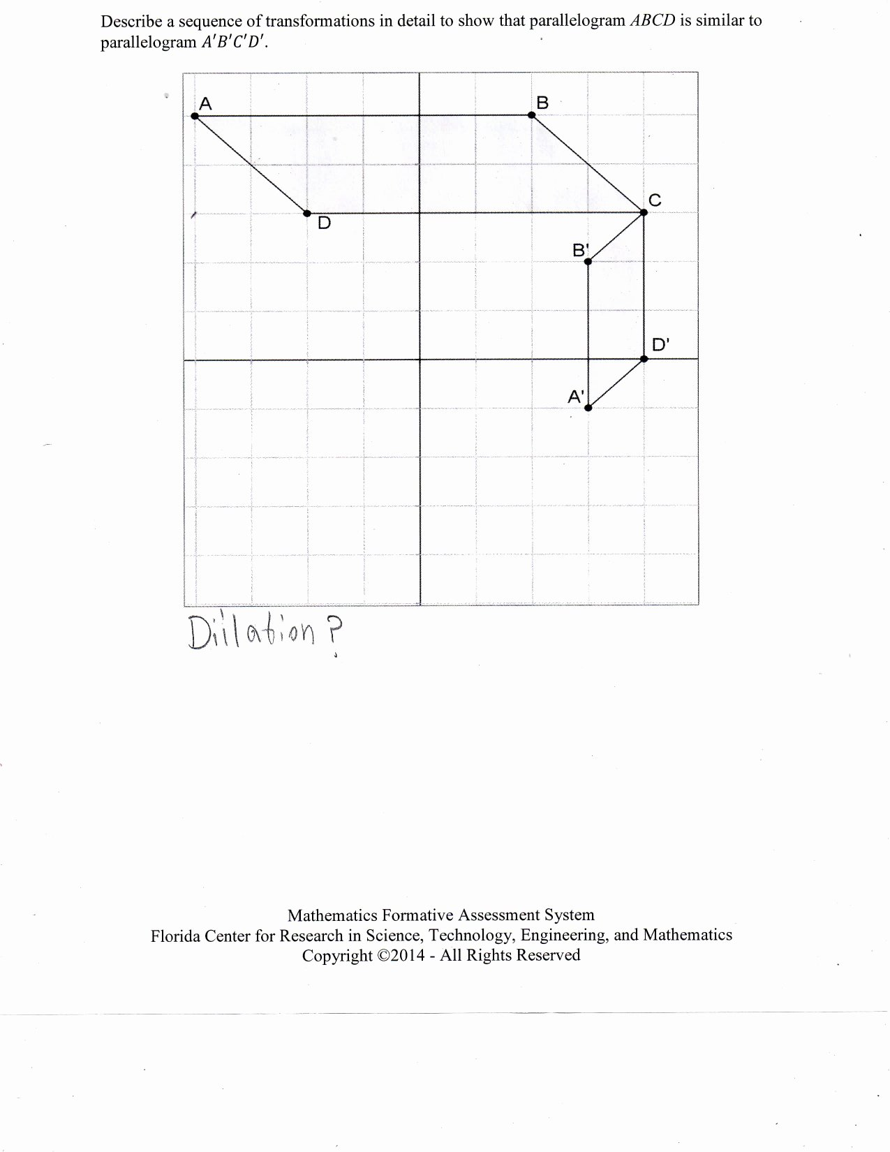 50 Sequence Of Transformations Worksheet