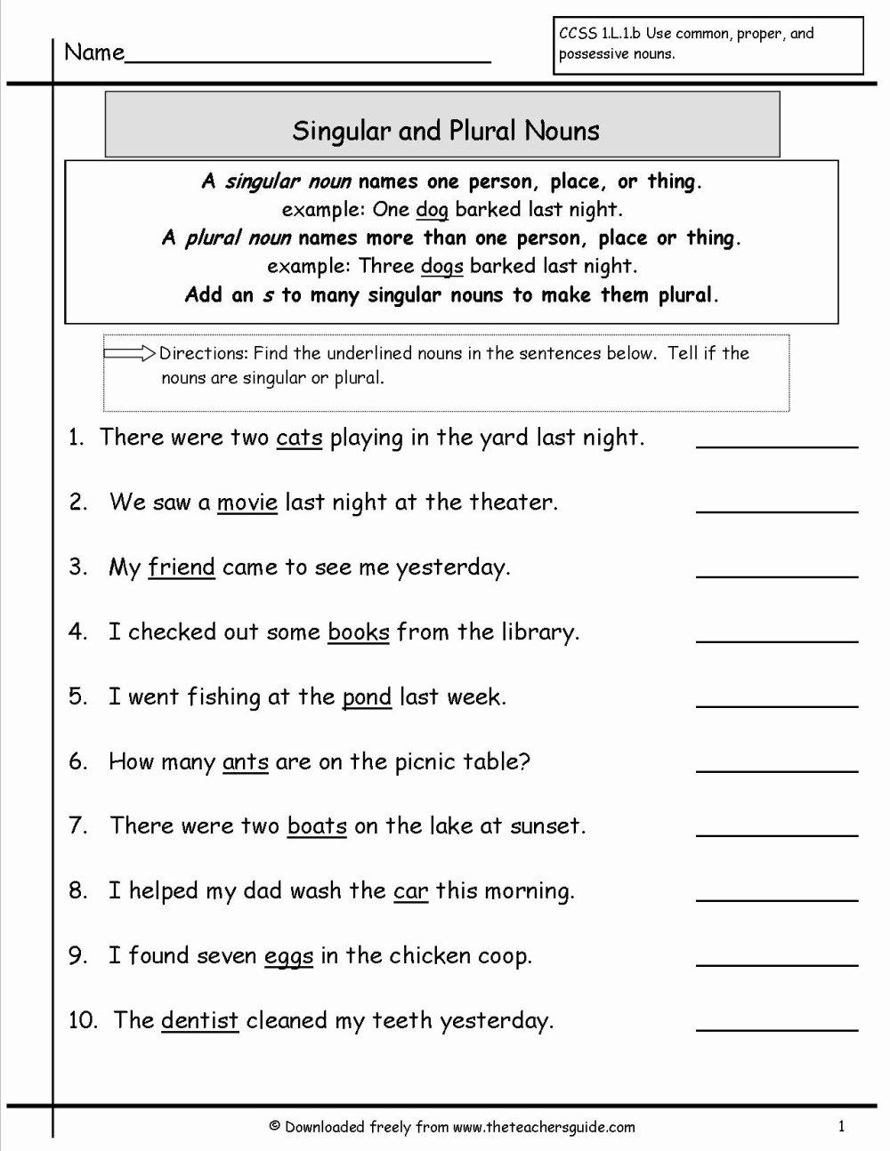 medium resolution of Possessive Noun Worksheets Esl   Printable Worksheets and Activities for  Teachers
