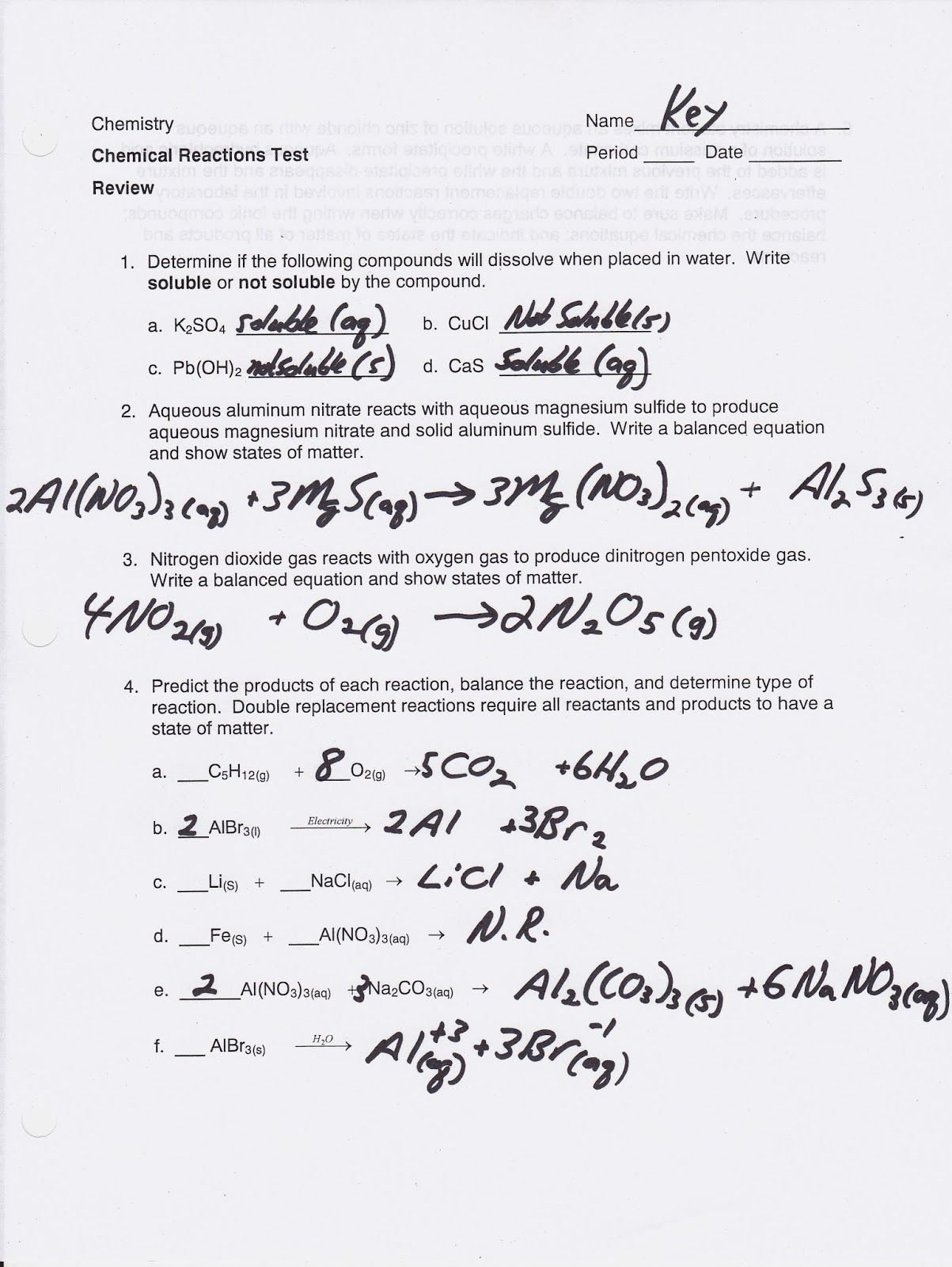 50 Worksheet Classification Of Matter